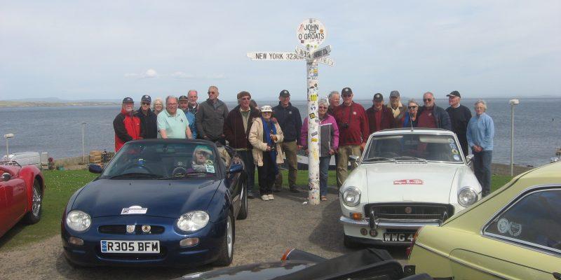 Members at John O'Groats